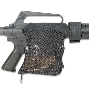 Leapers UTG AR-15 Deluxe Brass Catcher Mesh Bag Black PVC-SHL16