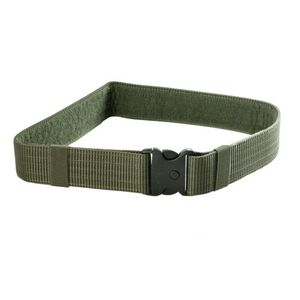 """JE Machine Accessories Belt with 3 Button Snap Buckle 34"""" x 2"""" Green"""