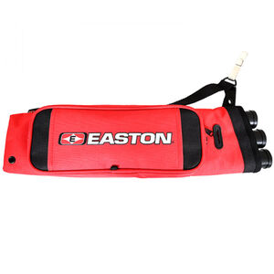 Easton Archery Flipside 3-Tube Hip Quiver Ambidextrous Red