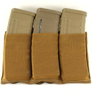 Blue Force Gear Ten Speed Triple M4 Magazine Pouch ULTRAcomp Laminate Coyote Brown HW-TSP-M4-3-CB