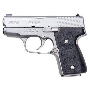 "Kahr Arms MK9 Semi Auto Handgun 9mm Luger 3"" Barrel 6 Rounds Nylon Grips Stainless Finish M9093"