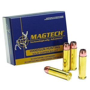 Ammo .32 S&W Long Magtech Sport Shooting 98 Grain Semi Jacketed Hollow Point Bullet 778 fps 50 Round Box 32SWLC