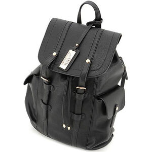 """Cameleon Equinox Backpack Style Handbag with Concealed Carry Gun Compartment 13.5""""x16.5""""x5.5"""" Synthetic Leather Black"""