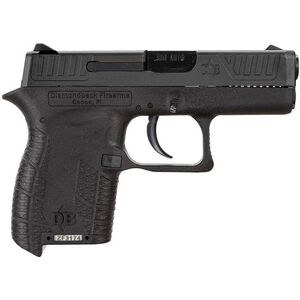 "Diamondback DB380 Semi Automatic Handgun .380 ACP 2.80"" Barrel 6 Rounds Polymer Frame Black Finish DB380"