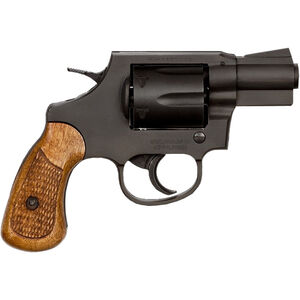 """Rock Island Armory M206 Revolver .38 Special 2"""" Barrel 6 Rounds Fixed Sights Wood Grips Black"""