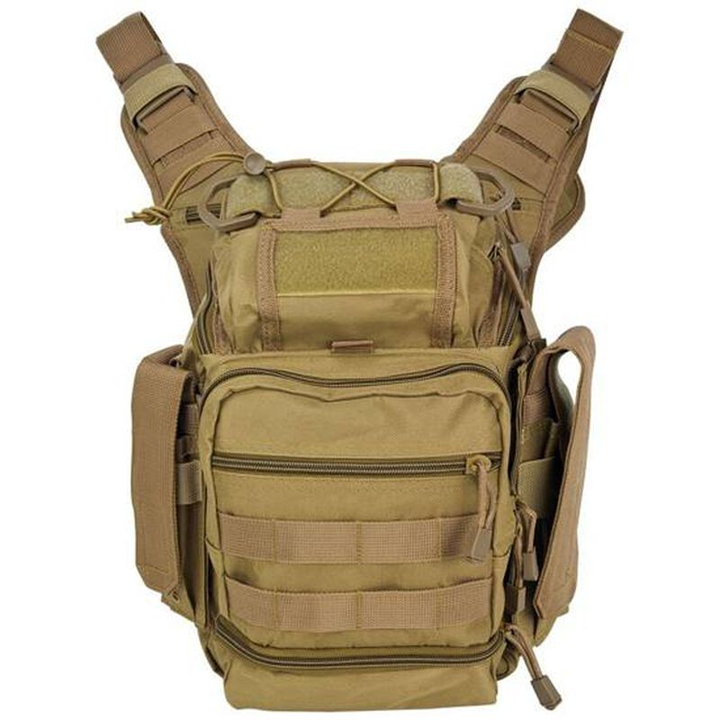 NcSTAR First Responders Utility Bag Nylon Tan CVFRB2918T