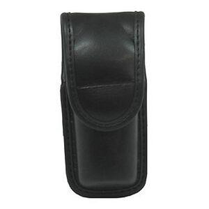 Bianchi 7907 OC Mace Spray Pouch Small Hidden Snaps Accumold Plain Black 22102