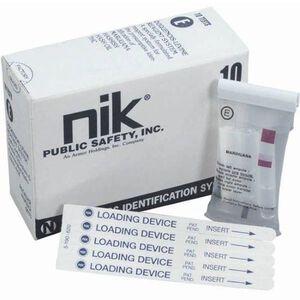 NIK Test F Narcotics Identification Acid Neutralizer Box of 10