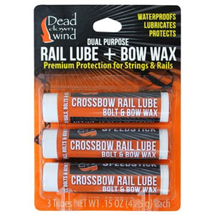 Dead Down Wind Rail Lube and Bow Wax 3 Pack 20062