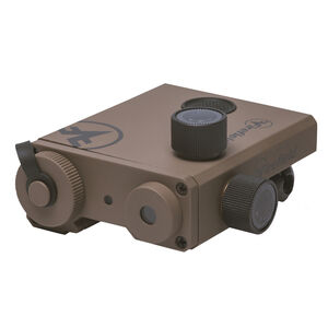 Firefield Charge XLT Green Laser Sight CR123A Battery Picatinny Mount Thermoplastic Housing FDE