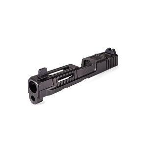 Faxon M&P9 Hellfire Slide with Multi Optic Cut, Assembled, Suppressor Sights