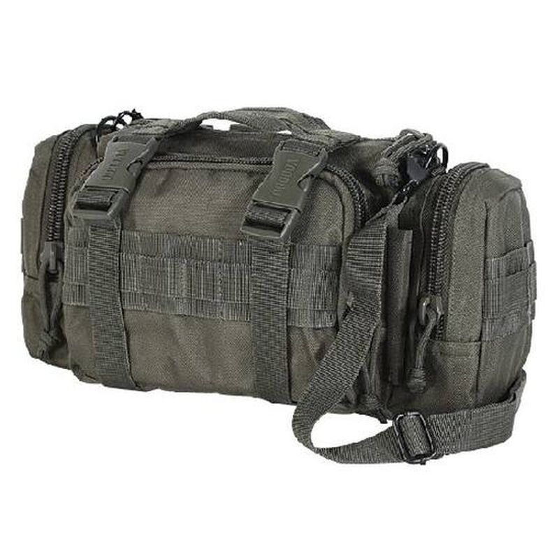 Voodoo Tactical Standard Three Way Deployment Bag Nylon 11 1/2 x 5 1/2 x 6 Inches OD Green