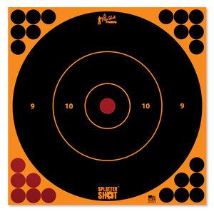 """Pro-Shot Splatter Shot 8"""" Orange Bull's-eye 6 Pack"""