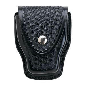 Aker Leather 508 Handcuff Case Finish: Basket Weave
