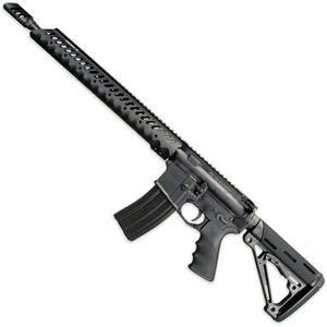 "Windham Weaponry 300 Blackout Semi Auto Rifle 16"" Barrel 30 Rounds Diamondhead Forend Hogue Stock and Grip Black"