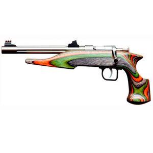 "Chipmunk Pistol Hunter Bolt Action Pistol .22 Winchester Magnum 10.5"" Barrel Single Shot Laminate Camo Stock Stainless Finish 41105"