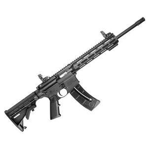 "S&W M&P 15-22 Sport .22 LR Semi-Auto Rifle 16.5"" Barrel 25 Rounds M-LOK Handguard Black"