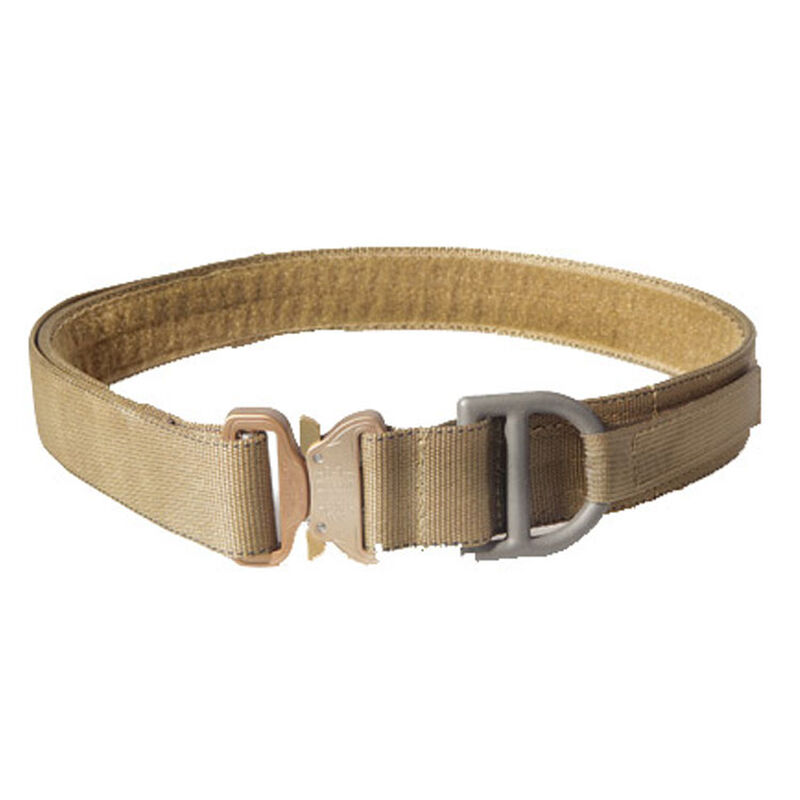 """High Speed Gear Cobra Rigger Belt w/Velcro Interior 1.75"""" Small 28"""" to 30"""" Coyote Brown"""