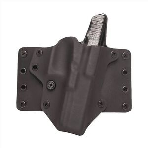 """BlackPoint Tactical Leather WING Belt Holster Right Hand 15 Degree Cant Fits SIG P229 1.75"""" Belts Kydex/Leather Black/Black"""