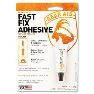 Gear Aid UV Cure Aquaseal .25oz Fast Fix Adhesive 10612