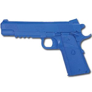 Rings Manufacturing BLUEGUNS Springfield Operator 1911 with Rails Handgun Replica Training Aid Blue FSPX9105ML