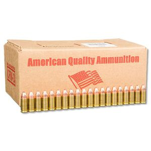 American Quality 9mm Ammunition 250 Rounds FMJ 124 Grain