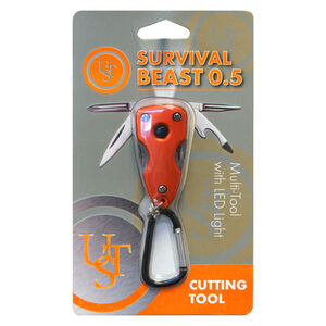 Ultimate Survival Technologies Survival Beast Multi-Tool 0.5 Orange