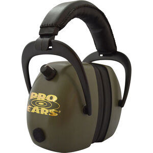 Pro Ears Gold II 30 Electronic Hearing Protection 30 dB Green