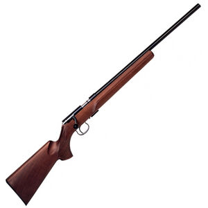 "Anschutz 1416 HB Bolt Action Rifle .22 Long Rifle 23"" Heavy Barrel 5 Rounds Two Stage Trigger Classic Beavertail Stock Blued Finish 2174008"