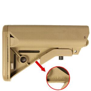 JE Machine Mil-Spec SOPMOD LM Stock Six-Position Tan