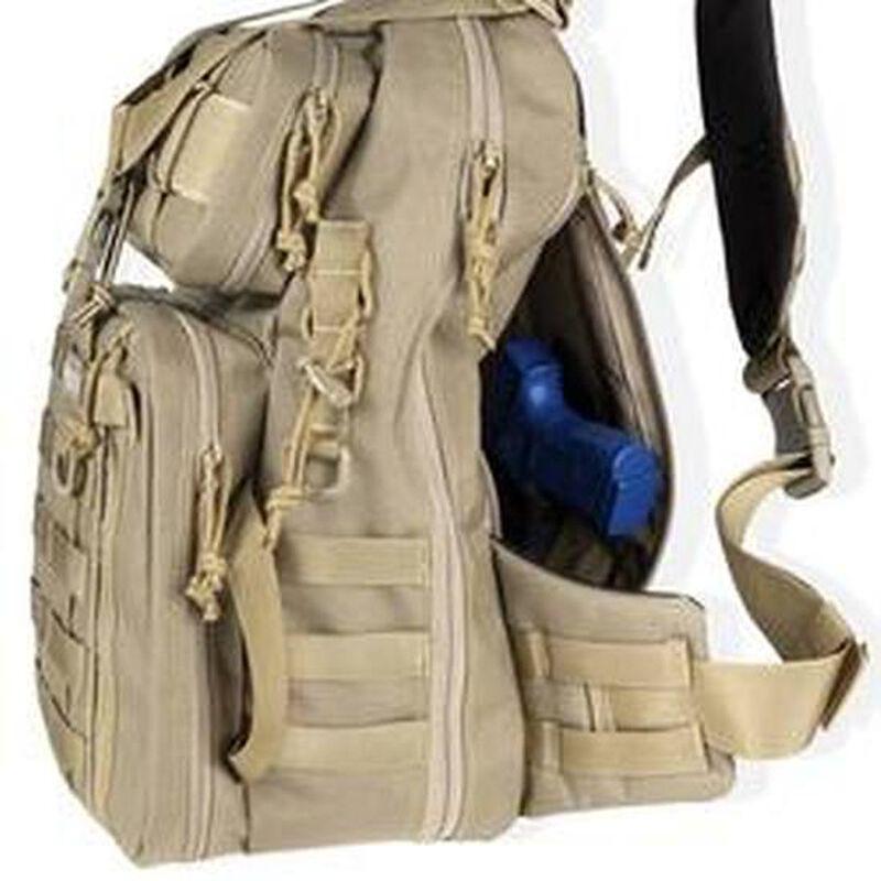Maxpedition Hard Use Gear Kodiak Gearslinger Backpack Nylon Black