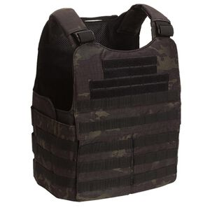 Voodoo Tactical MOLLE Heavy Armor Carrier Vest Nylon Multicam Black 20-9099