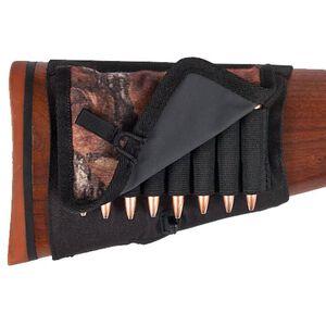 Allen Buttstock 8 Round Rifle Shell Holder with Cover Nylon Mossy Oak Break Up 2059