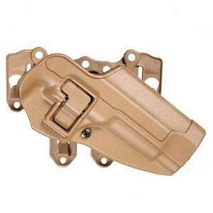 BLACKHAWK! S.T.R.I.K.E. SERPA Level 2 Beretta M9/92/96 Right Hand Holster Mounts On STRIKE/MOLLE Gear Angle Adjust Coyote Tan 40CL01CT-R
