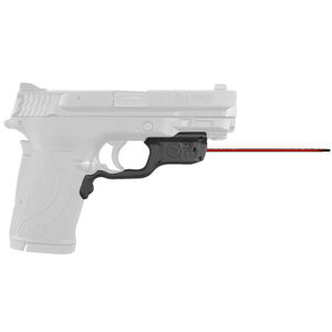 Crimson Trace LG-459 Red LaserGuard For S&W M&P380EZ/M&P22 Compact Models Front Activation Polymer Housing Matte Black