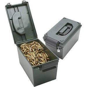 MTM Ammo Can O-ring Sealed Lockable Polymer Forest Green AC11
