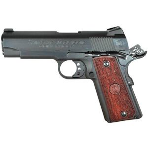 "American Classic 1911 Commander Semi Automatic Pistol 9mm 4.25"" Barrel 9 Round Wood Grips Blued Finish ACC9B"