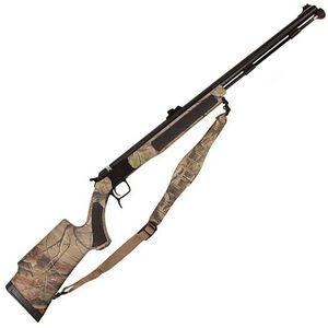 "CVA Accura V2 Northwest Nitride Barrel Break Action Black Powder Rifle .50 Caliber 27"" Barrel FO Sights RealTree APG Synthetic Stock Black Nitride Finish PR3127N"
