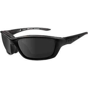 Wiley X Eyewear Brick Safety Glasses Black/Gray 854