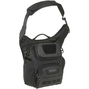 Maxpedition Advanced Gear Research WOLFSPUR Crossbody Shoulder Bag Black
