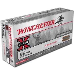 Winchester Super X .35 Remington Ammunition 20 Rounds JSP 200 Grains X35R1