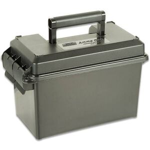 MTM Case-Gard .50 Caliber Ammo Can, Plastic, Water-Resistant, Lockable, Forest Green