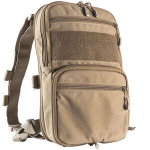 Haley Strategic Partners Flatpack Expandable Compact Assault Pack 500D Cordura Mil-Spec Nylon Coyote FLATPACK-COY