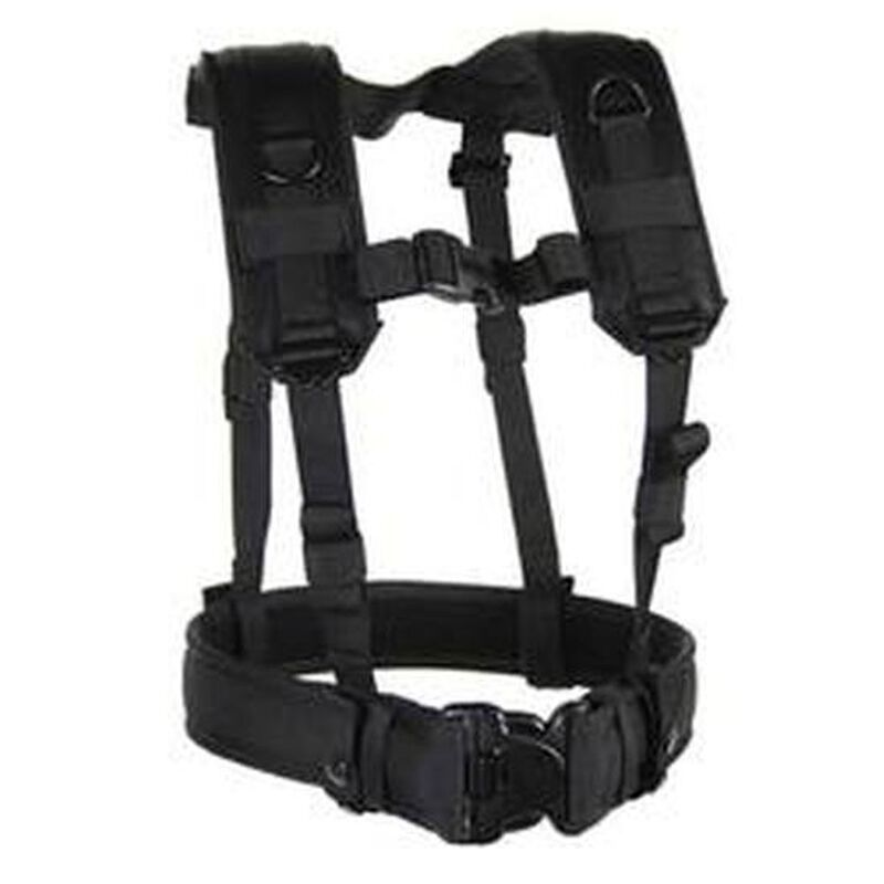 BLACKHAWK! Load Bearing Suspenders Harness Black