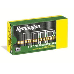 Remington .38 SPL +P 158 Grain HP 50 Round Box 890 fps