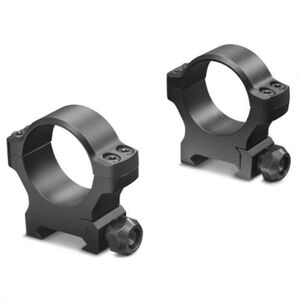 "Leupold BackCountry Cross Slot Weaver Style Rings 1"" Tube Diameter High Height 7075-T6 Aluminum Hard Coat Anodized Finish Matte Black"