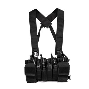 Haley Strategic Partners D3CRX Disruptive Environments Load Bearing Chest Rig One Size Matte Black