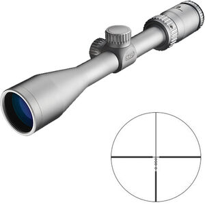"Nikon Prostaff P3 3-9x40 Riflescope Non-Illuminated BDC Reticle 1"" Tube .25 MOA Fixed Parallax Silver"