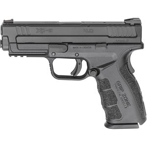 "Springfield XD Mod.2 9mm Semi Auto Pistol 4"" Barrel 16 Rounds Fiber Optic Sight Matte Black"