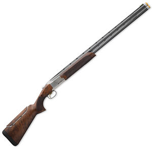 "Browning Citori 725 Pro Sporting Over/Under Shotgun 12 Gauge 32"" Ported Barrels 2.75"" Chambers 2 Rounds Pro Balance Grade III/IV Walnut Stock Adjustable Comb Silver Receiver Blued 0180024009"